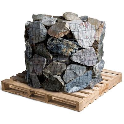 Hand Split Granite Cobbles