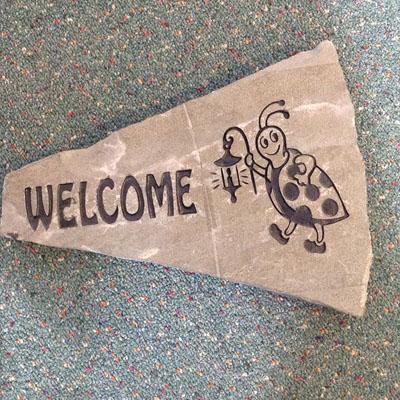 Ladybug Welcome